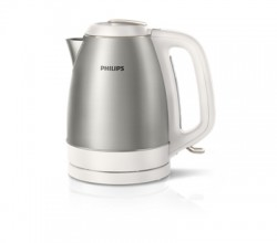 Bouilloire 1,5L 2200W Metal Brushed whit