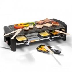 Pierre à cuire-raclette 1300W 8p