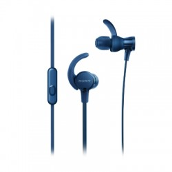 Ecouteurs sport intra-auriculaires bleu