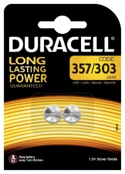 DURACELL SPECIALTY SILVER 303/357 (x2)