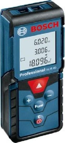 Télémètre laser, GLM 40, IP54