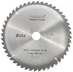 Lame de scie circulaire HW/CT 254x30, 48