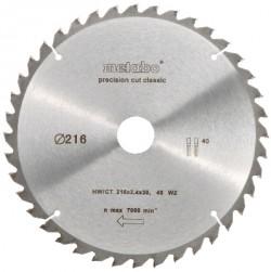 Lame de scie circulaire HW/CT 216x30, 40