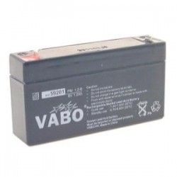 VABO PM 1.2 6V BATTERIE PLOMB ACID