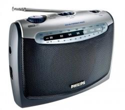 FM/MW, clock and alarm, headphone jack