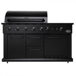Luciano outdoor kitchen gaz - noir