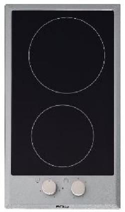 Table de cuisson vitro 30cm 2 zones