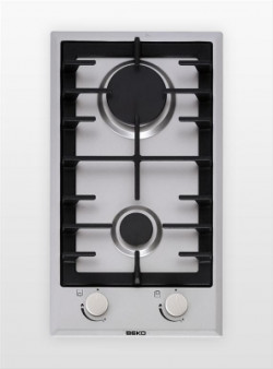 Table de cuisson à gaz 30cm 2 brûleurs