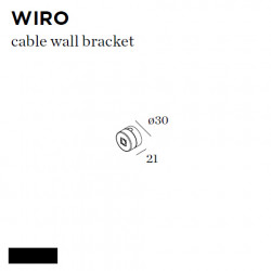 WIRO CABLE WALL BRACKET