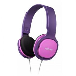 Casque pour enfants rose/violet