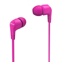 Ecouteurs intra-auriculaires rose