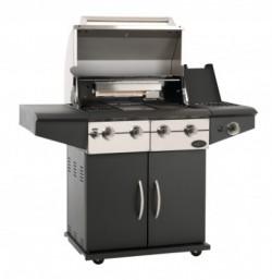 Da Vinci barbecue à gaz noir