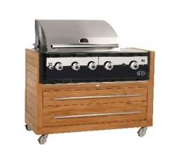 Ligorio Top barbecue à gaz encastrable