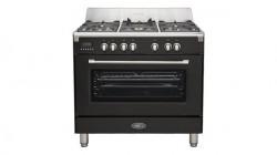 Toscana cuisinière 90cm gaz 1 four noir