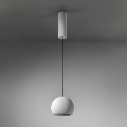 Smart ball susp 115 1-10V/PDIM GI wh