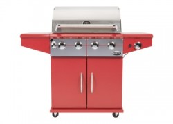 Da Vinci barbecue à gaz rouge