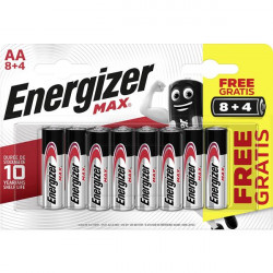 ENERGIZER MAX LR6 AA BL8+4 PROMO