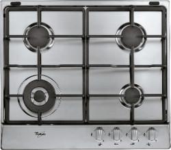 Table de cuisson au gaz en inox 58cm
